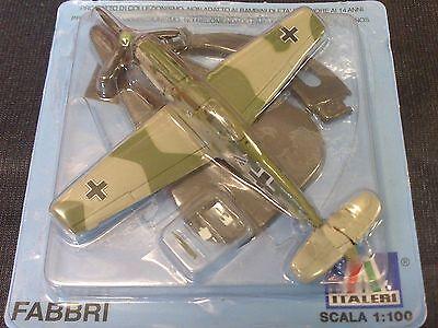 Bf-109 E, Italeri, 1:100, Metall, Die Cast, NEU, Fertigmodell,deutsche Luftwaffe
