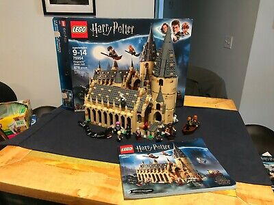 LEGO Harry Potter 75954 Hogwarts Great Hall COMPLETE w box, book