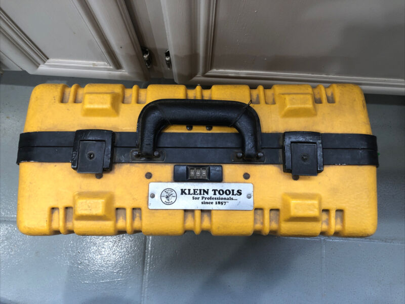 Klein Tools Insulated Yellow Tool Case For Set 33537