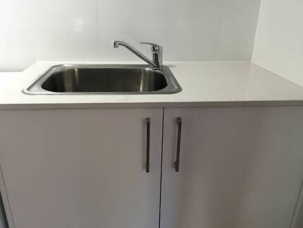 Caesarstone benchtop with sink and mixer tap Cronulla Sutherland Area Preview