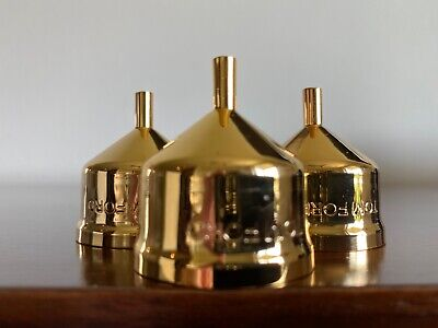 Tom Ford Private Blend metal funnels qty of 3