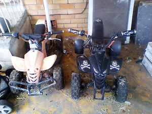 2 Quad Bikes for Sale Currently Not Running Both Can Be Repaired Labrador Gold Coast City Preview