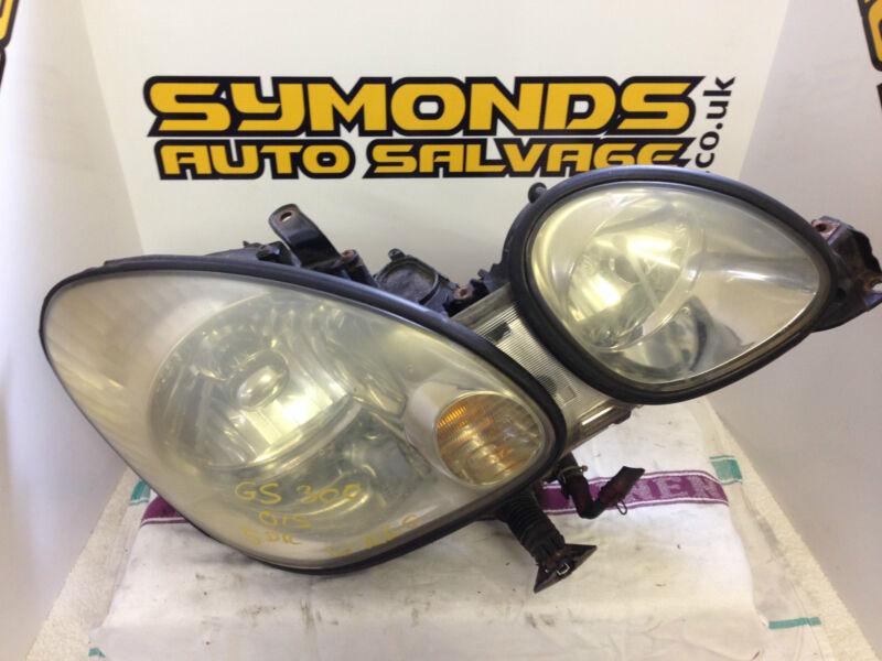 2000 Lexus GS300/430 OS RH Drivers side Xenon HID headlamp