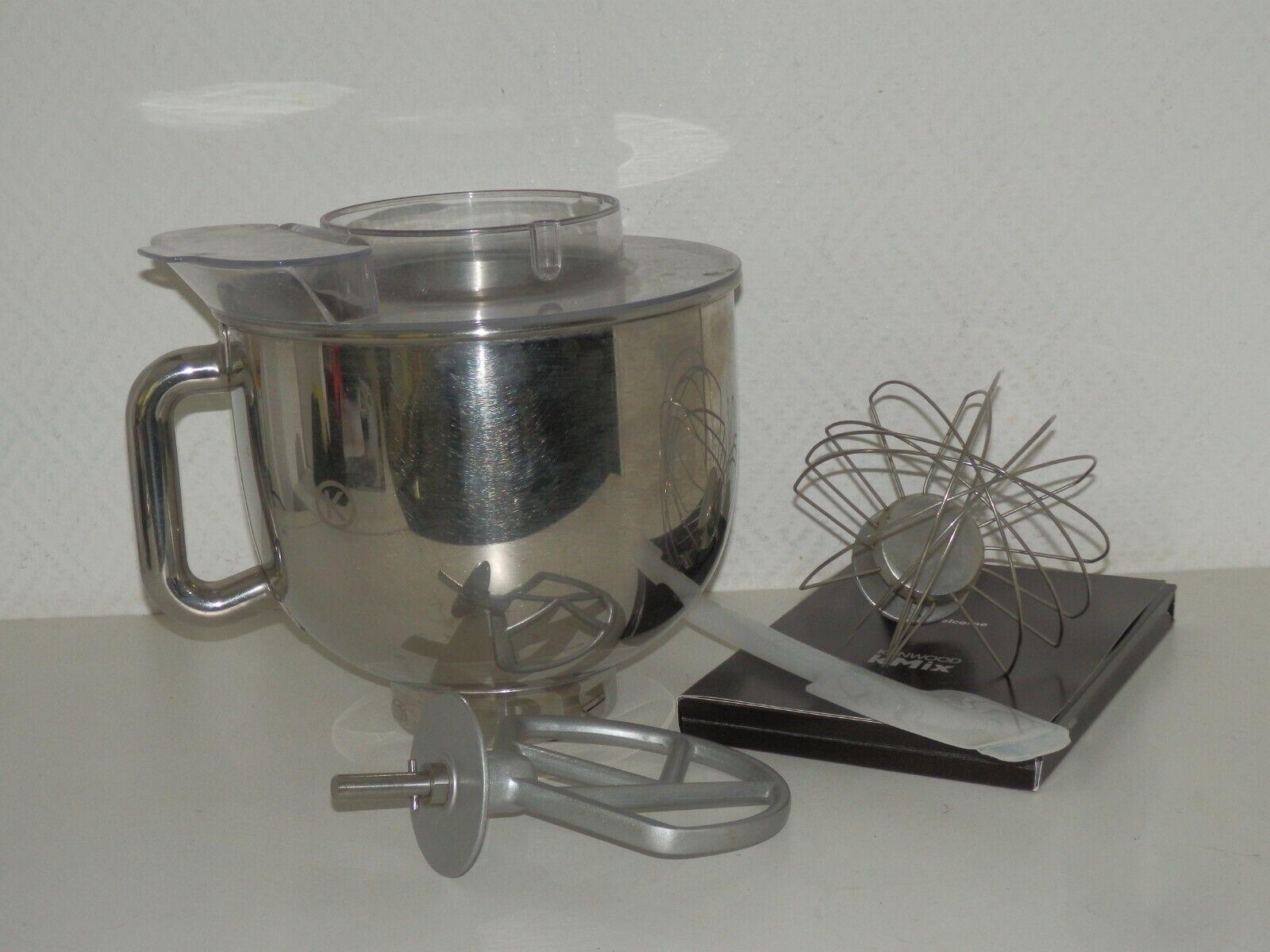 Zubehör für Kenwood KMIX Küchenmaschine ink. Schüssel, Schneebesen, Deckel etc.