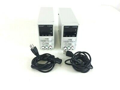 Lot Of 2 Dr.meter 30v5a Variable Linear Dc Bench Power Supply Hy3005b