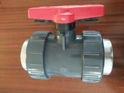 "Spears 1831-030SR 3"" PVC Schedule 80 Industrial Ball Valve"