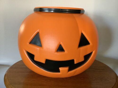 Halloween HUGE Pumpkin Candy Bucket Blow Mold 622H