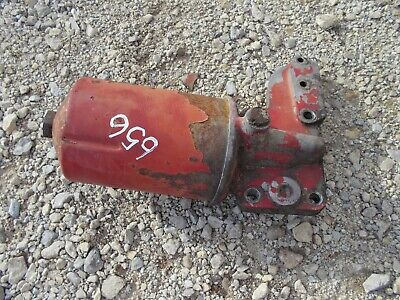 International Farmall 656 Rc Tractor Engine Motor Oil Filter Holder Base