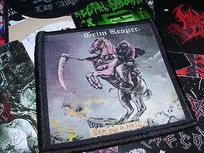 Grim Reaper Patch New-Wave-of-British-Heavy-Metal NWOBHM &&&