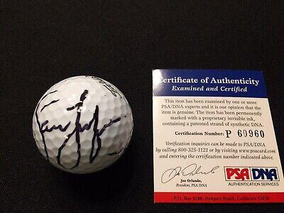 Jason Dufner Signed Golf Ball PSA DNA