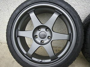 "(2) 5x110 - 18"" wheels w/Falken 235/40/18"
