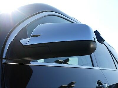CHEVROLET EQUINOX/GMC TERRAIN SUV 2010 - 2017 TFP ABS CHROME MIRROR COVER SET