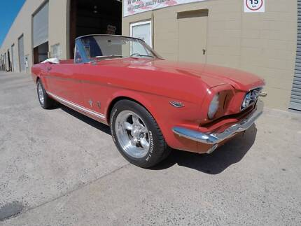 1965 FORD MUSTANG CONVERTIBLE MUST SELL MAKE AN OFFER Reedy Creek Gold Coast South Preview