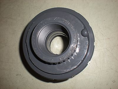 Nibco Sch-80 Pvc-1 Threaded Union - 1-14 - Nnb