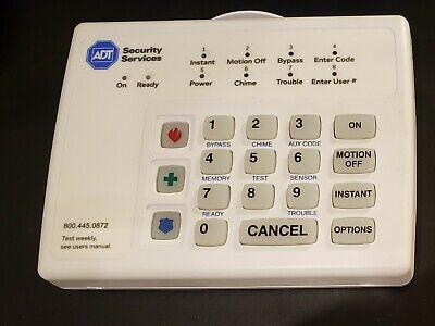 Adt Brinks Broadview 8 Zone Security Alarm Keypad Bhs 3111