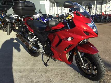 2016 Suzuki GSX1250FA Sports Tourer (With box and panniers)