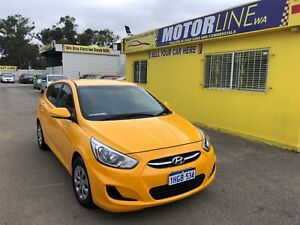 2015 Hyundai Accent ACTIVE 1.6L AUTOMATIC HATCHBACK $11,999 Kenwick Gosnells Area Preview