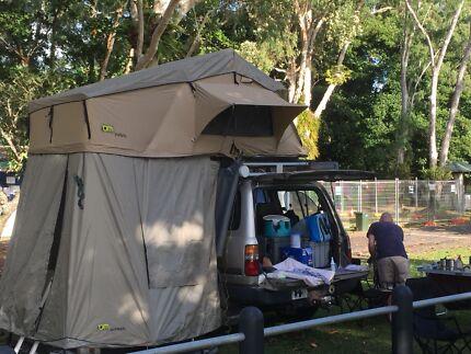 TJM Roof Top Tent u0026 Zip on Annex & roof top tent ladder extensions | Gumtree Australia Free Local ...