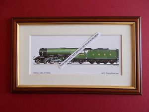 RAILWAY PRINTS - 4472 FLYING SCOTSMAN FRAMED (A)