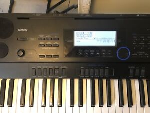 Casio CTK-6000 61 key portable piano