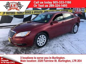 2014 Chrysler 200 LX, Automatic, Power Group, 97, 000km