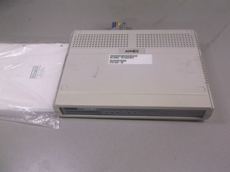 Nortel AXM-D-8-S-173 Micro Annex XL 8-Port Network Switch Router Terminal Server