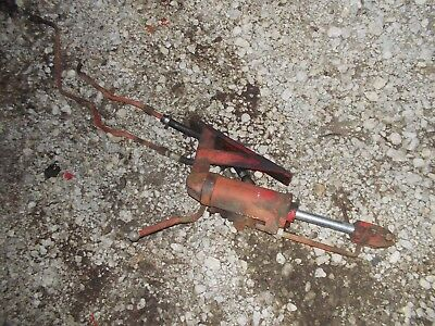 Massey Harris 44 Tractor Mh Hydraulic Hitch Lift Cylinder Hoses 3pt Hitch
