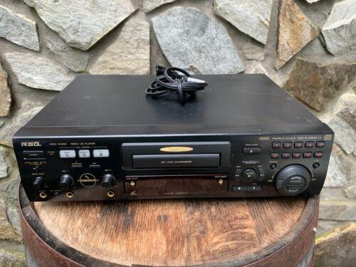 RSQ RSQ-SV222 NTSC/PAL Video CD VCD 2.0 Karaoke Player w/ 2x Microphone Inputs