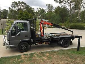 Crane Truck & Flat Bed Truck Hire with Driver - Fixed Rate Calamvale Brisbane South West Preview