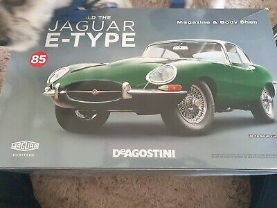 Jaguar e type car parts model