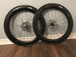 2018 Reynolds Aero 65 Disc Carbon clincher tubeless wheel set
