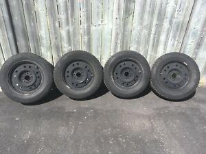 BARUM Polaris Snow Tires 215/65 R16 & Rims