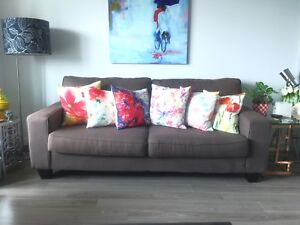 Comfortable grey couch in great condition!