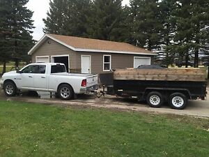 2012 6x12 Dump Trailer For Rent or Hire!