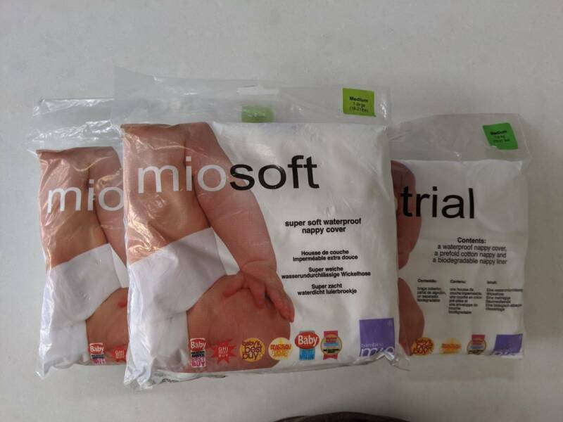 Bambino Mio MioTrial Mio Trial Pack Medium 7-9kgs Brand New