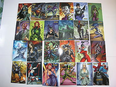 Batman, Superman and DC 52 Cryptozoic 2013 3 Sets of a Total 187 Cards Together