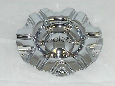 DOLCE 6168-CAP LG0908-49 CHROME WHEEL RIM CENTER CAP (Dolce Rims)