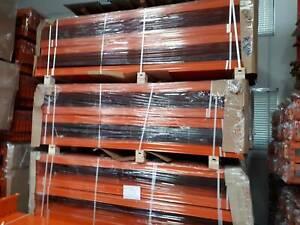H/ DUTY PALLET RACKING BEAMS 2427Kg Per Level 2591mm x 100mm