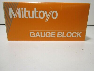 Mitutoyo 614202-531 2 Square Steel Gage Block Accuracy Grade 0