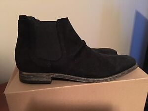 Chelsea Suede Leather Boots