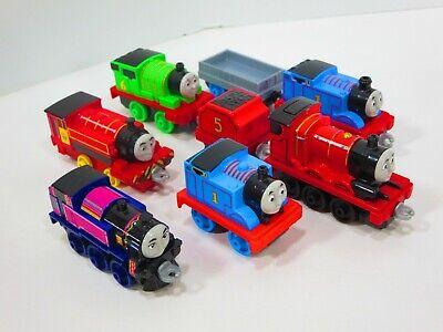 Thomas & Friends Ashima Victor James Percy Adventures Metal Train Lot Mattel
