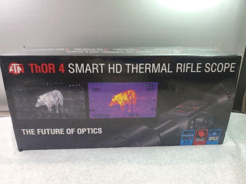 GENUINE ATN ThOR 4 384 1.25-5x Thermal Hunting Smart HD Rifle Scope*READ DETAIL*