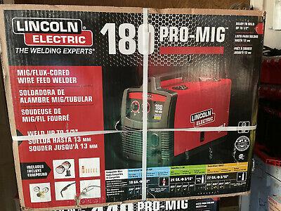 Lincoln Electric 180hd Weld Pak Mig Tig Pro 180 Hd Wire Feed Welder K-2481