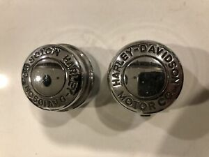 Harley Davidson Front Axle Nut Covers