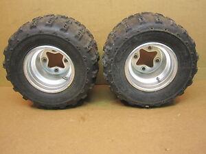 2006-06-LTR-450-LTR450-Rear-Wheels-Rim-Rims-Wheel-Tires-Tire-Dunlop