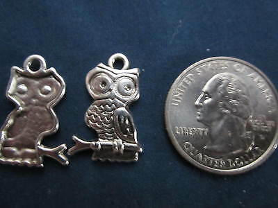 wholesale lot 100 owl halloween charms, make  pendant, earrings,  bracelet - Halloween Charms Wholesale