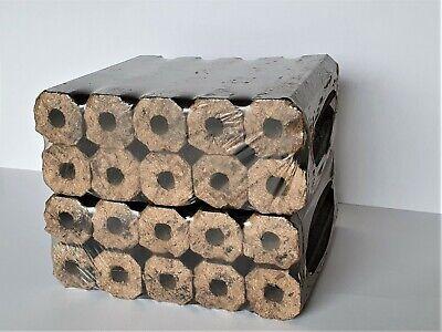 High Energy Ultra Dry Heat Logs Eco Wood Open Fire Log Fuel 2 x 10 kg Pack