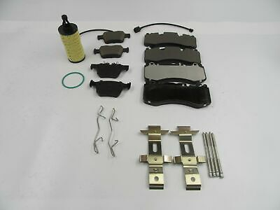 Maserati Levante S front and rear brake pads set +FREE OIL FILTER TopEuro #533