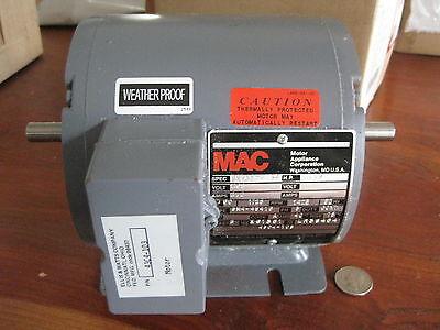 Mac Appliance Motor .75 Hp B8562-3 1725 Rpm Weather Proof  New