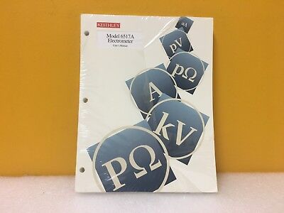 Keithley 6517a-900-01a 6517a Electrometer Users Manual